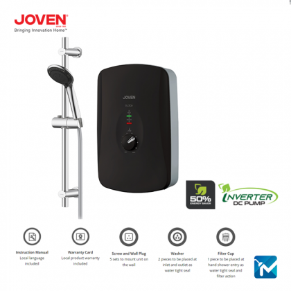 Joven SL30e Series Instant Water Heater (Without Pump / DC Pump)  - SL30e, SL30iP