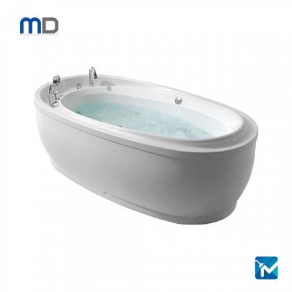 MD Premium Single Massage Bathtub Titanium