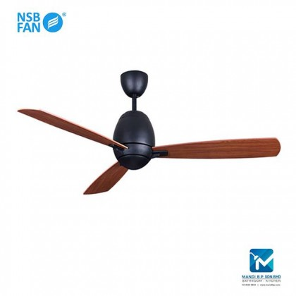 "NSB Fan Omega 52"" Ceiling Fan (Mahogany)"