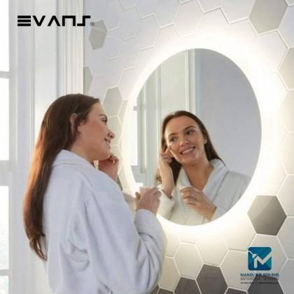 Evans Round Led Mirror