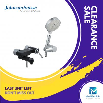 """Display Unit"" Johnson Suisse Corsico Wall-mounted Bath-shower Mixer Set"