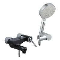 Johnson Suisse Corsico Wall-mounted Bath-shower Mixer Set