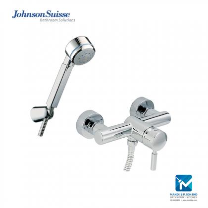 """Stock Clearance"" Johnson Suisse Ferrara Wall-mounted Shower Mixer Set"