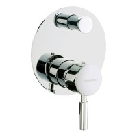 Johnson Suisse Ferrara Concealed Bath-shower Mixer with diverter