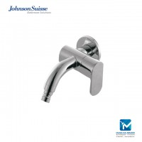 "Johnson Suisse Ferla-N Single lever ½"" washing machine tap with flange"