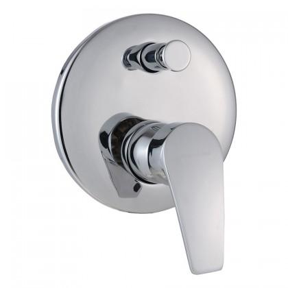 """Display Unit"" Johnson Suisse Galio Concealed Bath-shower Mixer with Diverter"