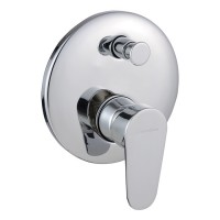 Johnson Suisse Gavi Concealed Bath-shower Mixer with Diverter