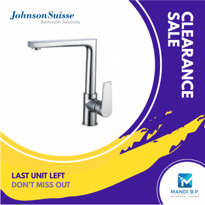 """""""Display Unit"""" Johnson Suisse Messina Deck-mounted Sink Mixer"""