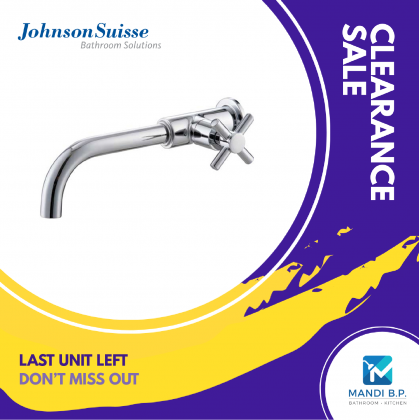 Johnson Suisse Asti Wall-mounted Basin Tap