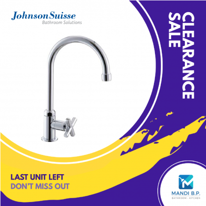 """Display Unit"" Johnson Suisse Asti Deck-mounted Sink Tap"