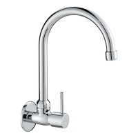Johnson Suisse Trevi Wall-mounted Sink Tap