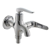 Johnson Suisse Fermo-N ½ inch 2way bib tap with screw collar and flange