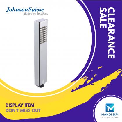 """Display Unit"" Johnson Suisse Arctic Single Function Hand Shower"