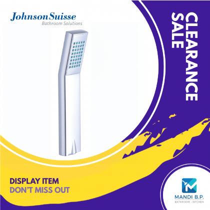 """Display Unit"" Johnson Suisse Arctic II Single Function Hand Shower"