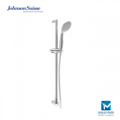 """""""Display Unit"""" Johnson Suisse Java Shower kit with hand shower, 1.75m flexible hose and 684mm slide bar (two function)"""