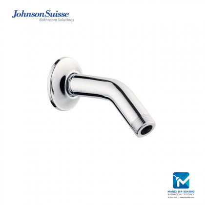 Johnson Suisse Brass Shower Arm and Flange (100mm)