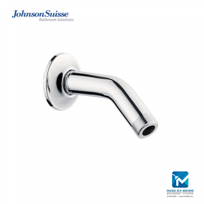 Johnson Suisse Brass Shower Arm and Flange (150mm)