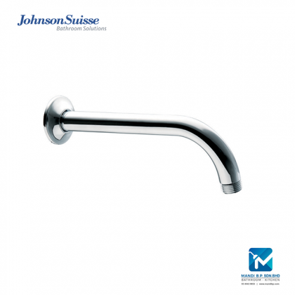 Johnson Suisse Brass Shower Arm and Flange (200mm)