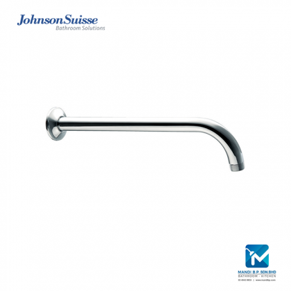 Johnson Suisse Brass Shower Arm and Flange (300mm)