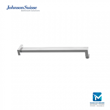 Johnson Suisse Brass Shower Arm and Flange (400mm) Square