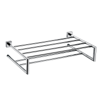 Johnson Suisse Rivoli Double Bath Towel Shelf