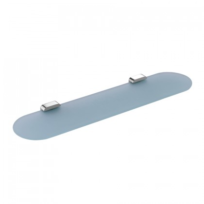 Johnson Suisse Forli Glass Shelf, Tempered Glass Frosted