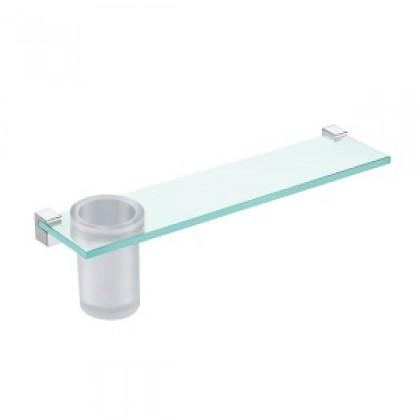 Johnson Suisse Design Glass Shelf & Tumbler
