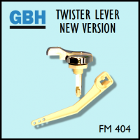 Flush Master FM 404 GBH Twister Lever (New Version)