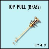Flush Master FM 419 Top Pull (Brass Chrome)