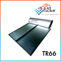 Aquasolar TR66 Titanium Rigid Solar Hot Water System (66GAL)