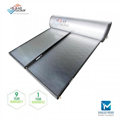 Aquasolar ASTR Series TR80 Titanium Rigid Solar Panel Water Heating System (80 GAL)