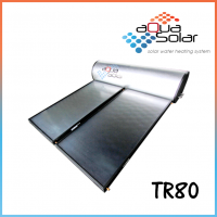 Aquasolar TR80 Titanium Rigid Solar Hot Water System (80 GAL)