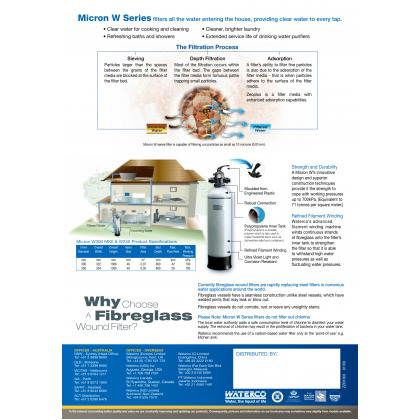 Waterco W300 MKII Fibreglass Zeolite Filter