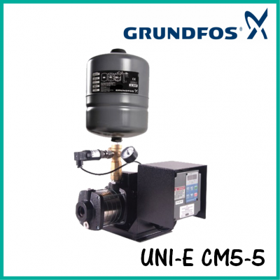 Grundfos UNI-E CM5-5 Variable Speed Water Booster Pump