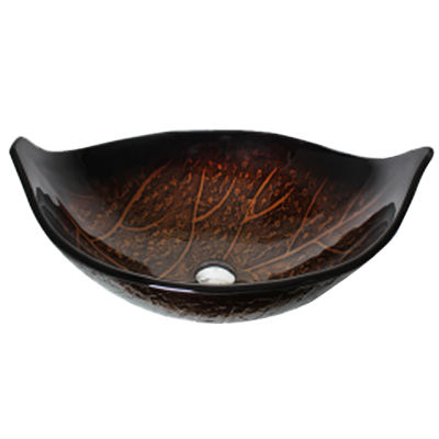 Evans Art Glass Basin - EVAB1154