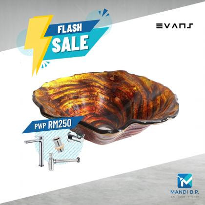 Evans Art Glass Basin - EVAB1633