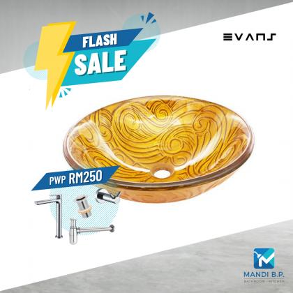 Evans Art Glass Basin -EVAB14038