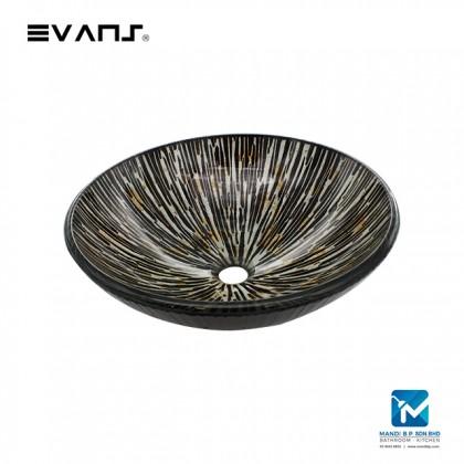 Evans Art Glass Basin EVAB1065