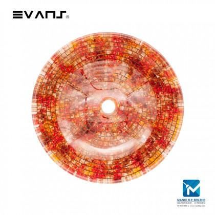 Evans Art Glass Basin - EVAB13257