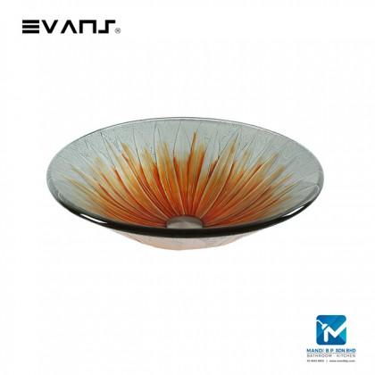 Evans Art Glass Basin - EVAB1601