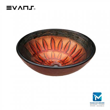 Evans Art Glass Basin - EVAB1095