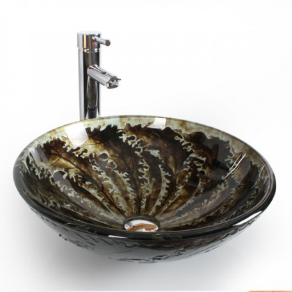 Evans1608 Art Glass Basin- EVAB1608