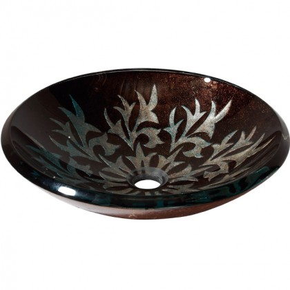 Evans Art Glass Basin 12110