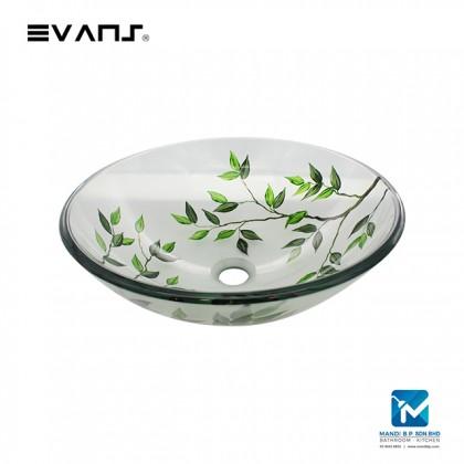 Evans Art Glass Basin - EVAB2001